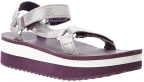 Teva Women's Flatform Universal Leather Sandal