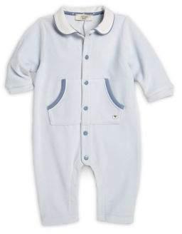 Armani Junior Infant's Velour Coverall
