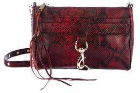 Rebecca Minkoff Embossed Leather M.A.C. Crossbody Bag - ANIMAL PRINT - STYLE