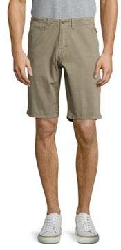 Original Paperbacks Palm Textured Cotton Shorts
