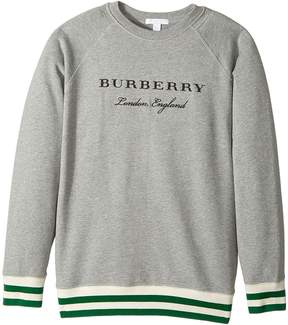 Burberry Double Rib Raglan Sweat Boy's Clothing