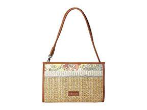 Sakroots Roma Mini Straw Crossbody