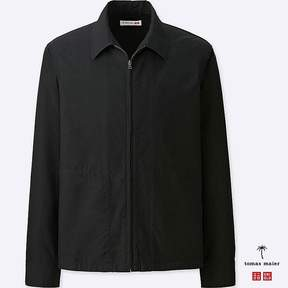 Uniqlo Men's Cotton Poplin Zip-up Blouson