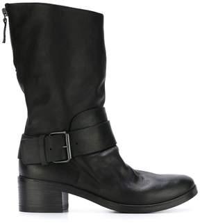 Marsèll rear zip buckled boots