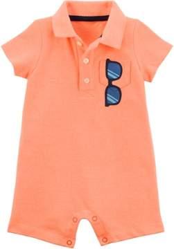 Carter's Baby Boys Sunglasses Pocket Romper