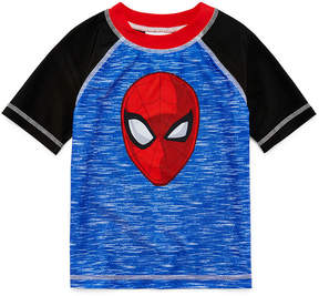 Spiderman LICENSED PROPERTIES Rash Guard - Toddler Boys