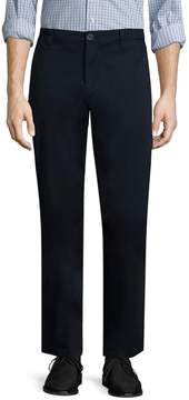 Armani Exchange Men's Solid Cotton Trousers
