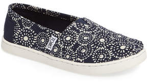 Toms Classic Print Slip-On (Toddler & Little Kid)