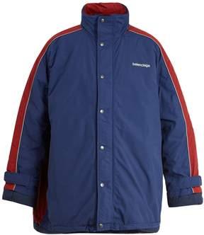 Balenciaga Padded high-neck jacket