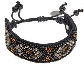 Deepa Gurnani deepa by Roza Geometric Beaded Adjustable Bracelet