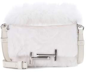 Tod's Double T Mini fur shoulder bag