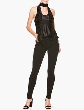 Paige Skinny Scarf - Black