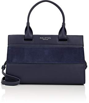 Halston WOMEN'S DOUBLE-HANDLE SATCHEL