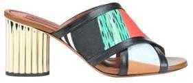 Missoni Women's Multicolor Leather Sandals.
