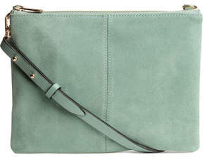 H&M Small Bag with Suede Details - Green