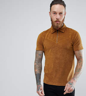 Nudie Jeans Terry Polo Shirt Gold