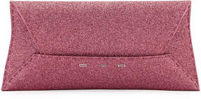 VBH Manila Stretch Sparkle Clutch Bag, Pink Metallic