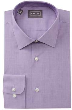 Ike Behar Mini Houndstooth Regular Fit Dress Shirt