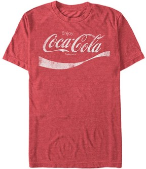 Fifth Sun Red Heather The Taste Of Time Coca-Cola Tee - Men