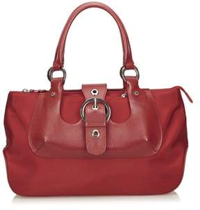 Lancel Pre-owned: Nylon Handbag.