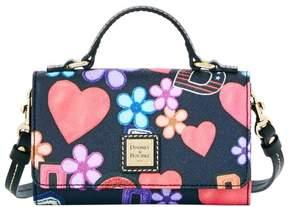 Dooney & Bourke Varsity Small Mimi Crossbody Shoulder Bag - BLACK - STYLE