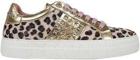 Philipp Plein Leopard Print Sneakers