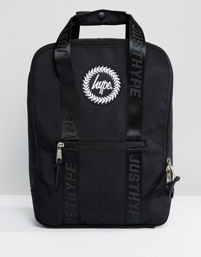 Hype Tote Backpack in Black