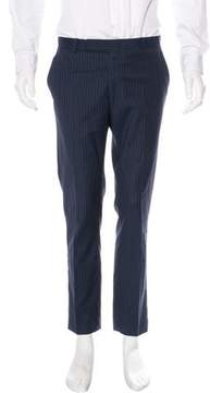 Band Of Outsiders Wool Striped Pants