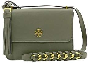 Tory Burch Brooke Leather Shoulder Bag- Leccio - ONE COLOR - STYLE