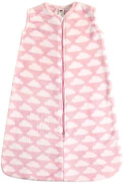 Hudson Baby Pink Cloud Plush Sleeping Bag - Infant