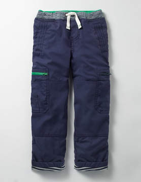 Boden Lined Pull-on Cargos