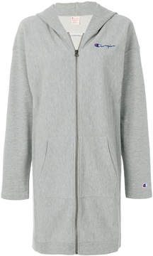 Champion longline zip-up hoodie
