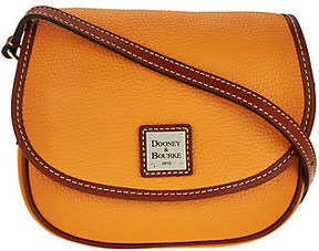 Dooney & Bourke As Is Pebble Leather Hallie Crossbody Bag - ONE COLOR - STYLE