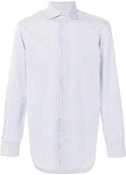 Barba striped button shirt