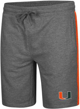 Colosseum Men's Miami Hurricanes Sledge II Terry Shorts