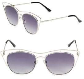 Fantas-Eyes 51MM Aviator Sunglasses