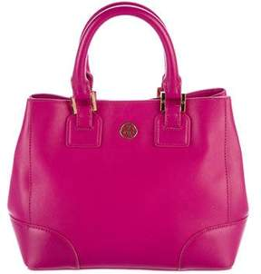 Tory Burch Robinson Triangle Tote - PINK - STYLE