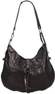 Saint Laurent Mombasa leather handbag - BLACK - STYLE