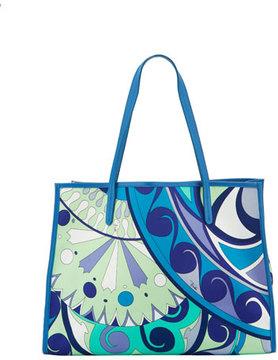 Emilio Pucci Nigeria-Printed East-West Beach Tote Bag