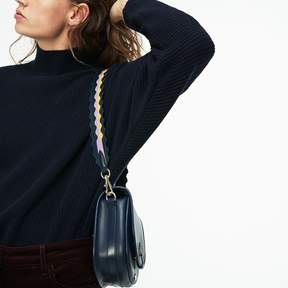 Lacoste Women's Fancy Straps Colored Waves Leather Shoulder Strap