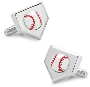 Cufflinks Inc. Men's Cufflinks, Inc. 3D Baseball Cuff Links