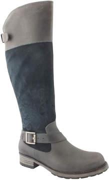 Bos. & Co. Denim & Petrol Alice Waterproof Leather Boot