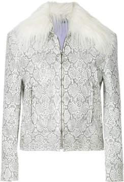 G.V.G.V. faux fur collar jacket
