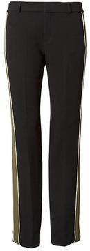 Banana Republic x Olivia Palermo | Ryan Slim Straight-Fit Tuxedo Stripe Pant