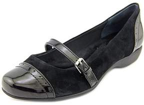 Giani Bernini Women's Aubree Leather Mary Jane Flats.