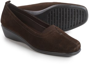 Italian Shoemakers Seamed Wedge Shoe - Leather (For Women)