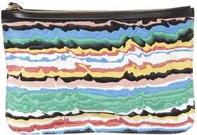 Pierre Hardy Canvas Clutch Bag