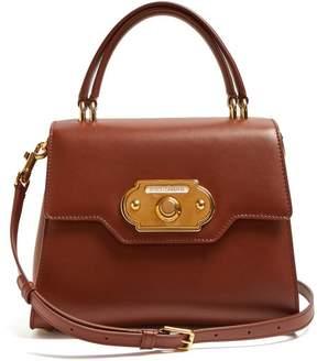 Dolce & Gabbana Welcome Medium Leather Bag - Womens - Tan