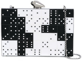 Kotur domino crystal clutch