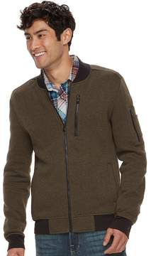 Rock & Republic Men's Textured Bomber Jacket